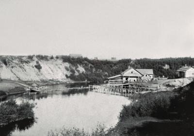 18. Полоцк. Мельница на реке Полоте. Фото 1889-1891 годов