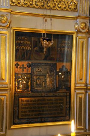 19-Чудотворная икона святителя Спиридона в храме Воскресения Словущего на Успенском Вражке