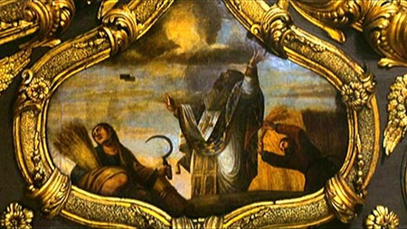 5-Чудеса по молитвам святителя Спиридона. Роспись храма свт. Спиридона на о. Корфу