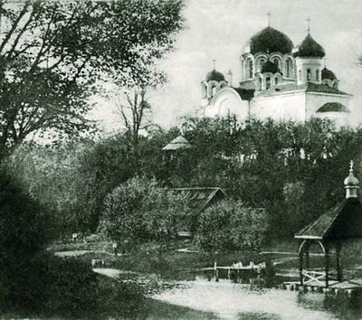 6. Спасо-Евфросиниевского монастыря. Открытка начала XX века
