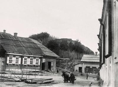 17. Полоцк. Жилые дома у Красного холма. Фото 1889-1891 годов